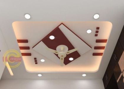 Stylish Modern Ceiling Design Ideas _ Engineering Basic (50)