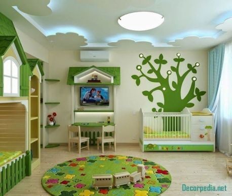 Stylish Modern Ceiling Design Ideas _ Engineering Basic (56)
