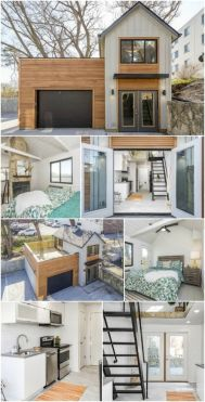 The Carriage House is a Unique Tiny Home from Zenith Design _ Build _ The vast majority of tiny hous. They are similar in size and shape to a large motorhome (not a coincidence_ conside