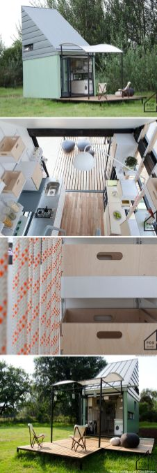 The POD_idladla_ a 185 sq ft tiny house from South Africa.