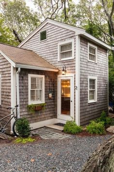 This is a 350 sq. ft. tiny cottage in Cape Cod redesigned by Christopher Budd and re_built by Cape Associates_ Inc. (1)