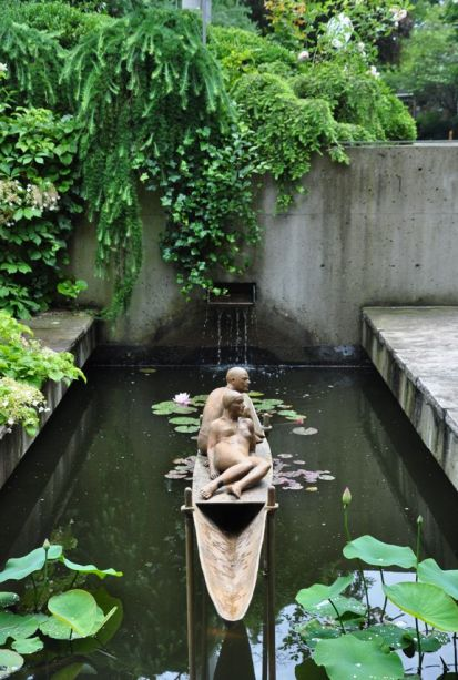 Three Dogs in a Garden_ Pin Ideas_ Small Water Features & Garden Ponds