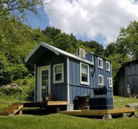 Tiny Cottage in the Smokies by Wheel Life Tiny Homes