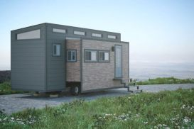 Tiny house concept can expand to 337 square feet _ Curbed