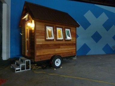 Tiny mobile house