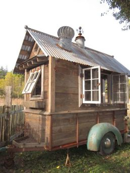 Trailer Shed. This is brilliant_ I can_t tell you how many times we_ve been working around the property & needed something out of the shed that was far_ far away. This way_ we could bri
