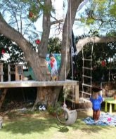 We are building our tree house this summer around palm trees_ can_t wait_