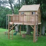 childrens treehouses _ Tree house from The Childrens Cottage Company _ Children_s playhouses ...