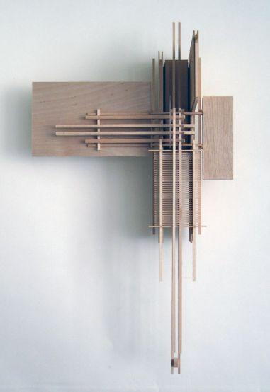 "eltrupr_ fabriciomora_ Construction 6_ ""Icarus""Sculpture Made from Basswood Sticks I wish I."