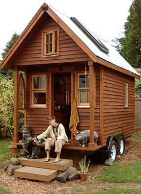 house on wheels_ this could be a shed