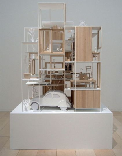 _ model for _House NA_ by the Sou Fujimoto group