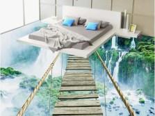 floor murals tile Luxury custom 3d wallpaper bedroom mural roll 3d floor self