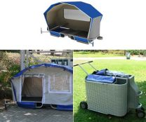 portable homeless shelters design _ ... carriage that doubles up as a temporary home for the homeless the
