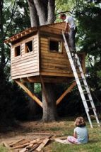 simple tree house ideas