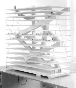 subtilitas_ Christian Kerez _ Model for the Swiss_Re offices. Via.