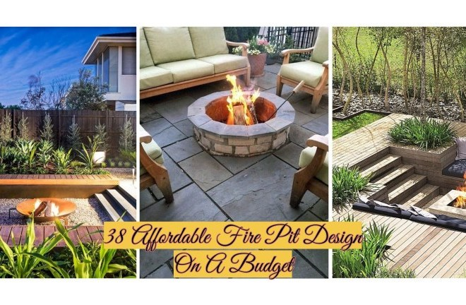 38 Affordable Fire Pit Design On A Budget