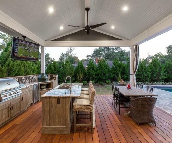 30+ Minimalist Outdoor Kitchens Design on a Budget