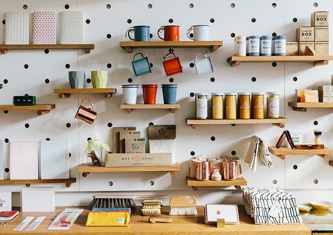 Pegboard In The Kitchen