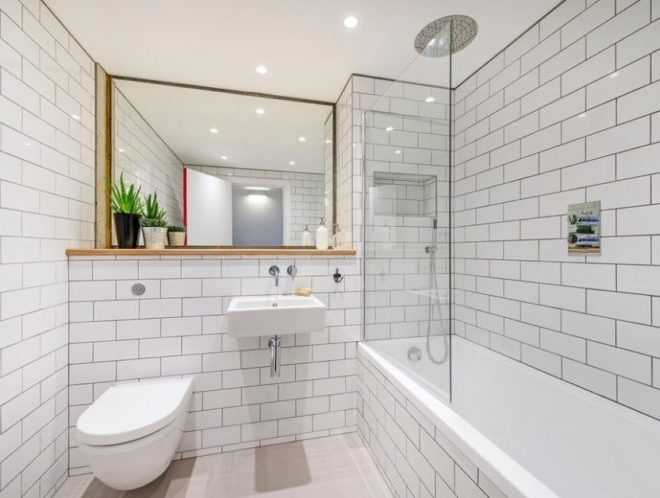 Beautify Your Bathroom Area with Awesome Subway Tile Shower Design
