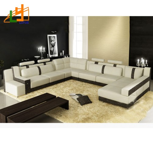 European_Style_8_Seater_Sectional_U_Shaped