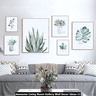 Awesome-Living-Room-Gallery-Wall-Decor-Ideas-11