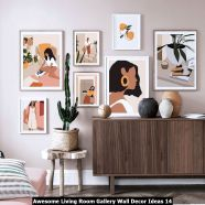 Awesome-Living-Room-Gallery-Wall-Decor-Ideas-14