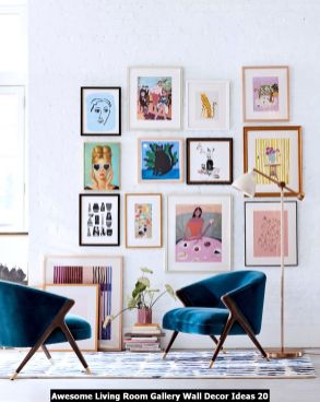 Awesome-Living-Room-Gallery-Wall-Decor-Ideas-20