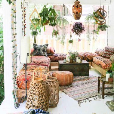 Beautiful-Bohemian-Sunroom-Decorating-Ideas-06