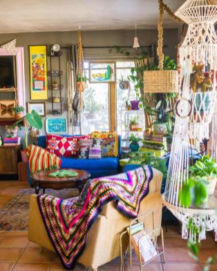 Beautiful-Bohemian-Sunroom-Decorating-Ideas-13