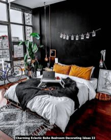 Charming-Eclectic-Boho-Bedroom-Decorating-Ideas-22