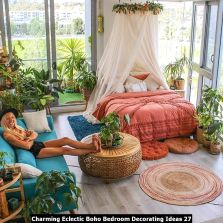 Charming-Eclectic-Boho-Bedroom-Decorating-Ideas-27