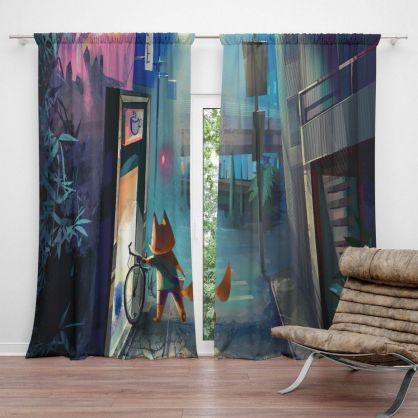 Inspiring-Summer-Curtains-For-Living-Room-Decoration-13