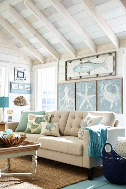 Nice-Beach-Theme-Living-Room-Decor-Ideas-Make-You-Feel-Relax-33