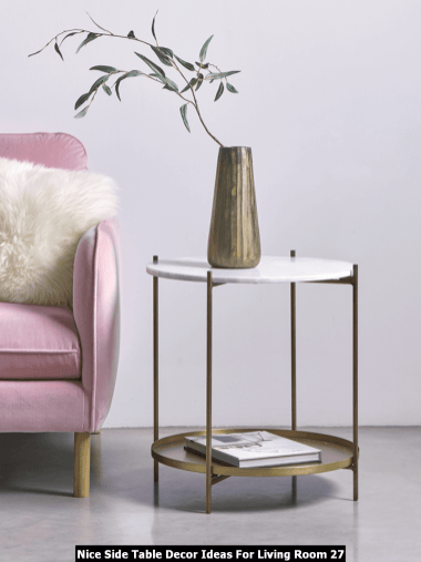 Nice-Side-Table-Decor-Ideas-For-Living-Room-27