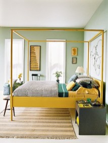 Yellow-and-green-bedroom
