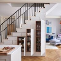 creative-under-stairs-storage-ideas-expand-kitchen-cabinets