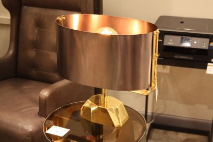 Arteriors-metal-shaded-table-lamp