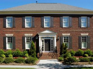 Brick-style-colonial-home