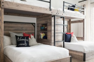 Bunk-beds-with-indutrial-handles-and-fresh-paint