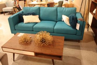 Casual-sofa-in-turquoise