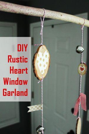 DIY-Rustic-Heart-Window-Garland