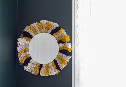 DIY-Tassel-Mirror
