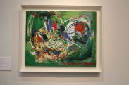 Framed-Wall-Art-green-work-presented-by-the-Hill-Gallery