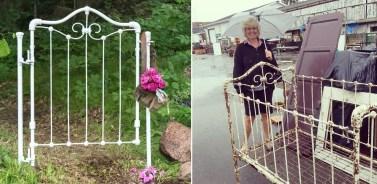 Garden-Fence-from-an-antique-crib