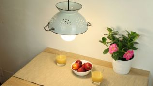 Make-A-Colander-Light-Fixture