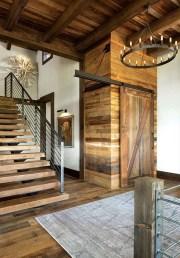 Modern-ranch-home-in-Colorado-barn-doors
