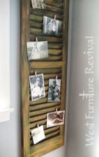 Old-wood-shutter-turned-into-email-organizer-and-picture-display