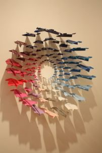Paper-airplane-wall-art