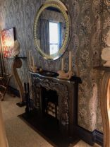 Pennoyer-Fireplace-with-wallppaper-walls