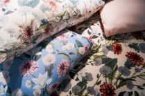 Pillows-with-a-fresh-floral-pattern-design